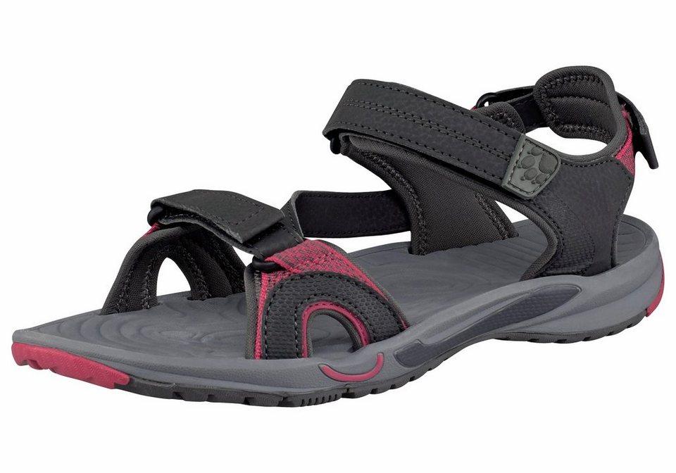 Jack Wolfskin Lakewood Cruise Sandal W Outdoor-Sandale in Anthrazit-Pink