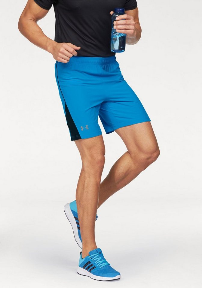 Under Armour® HEATGEAR FLYWEIGHT RUN 7'' SHORT Laufshorts in Blau