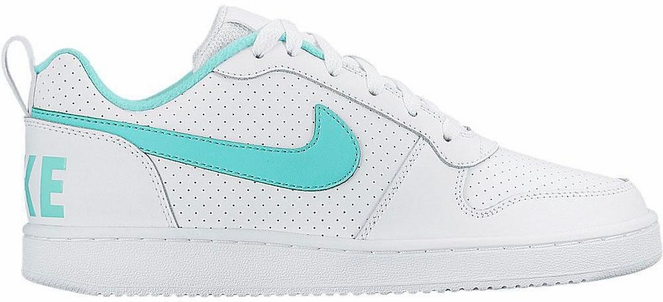 Nike »Court Borough Low Wmns« Sneaker in weiß-mint