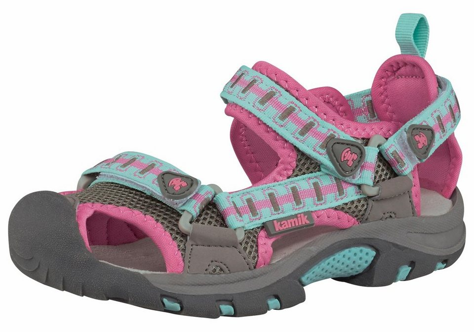 Kamik Jetty Outdoor-Sandale in Rosa-Mint