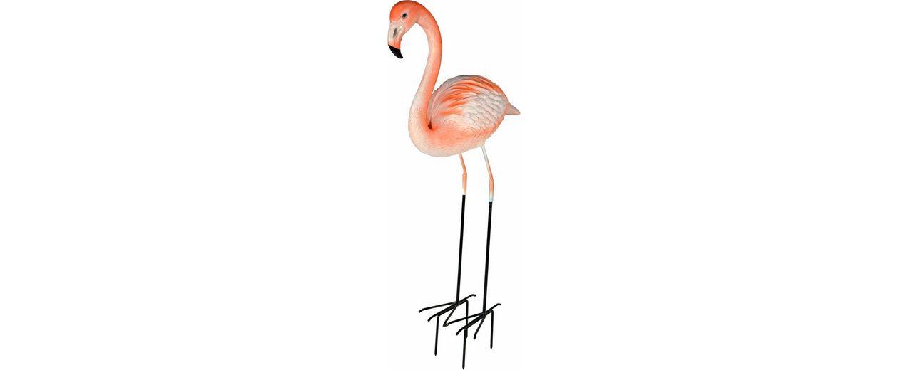 Home affaire Dekofigur »Flamingo stehend mit metall Beine«