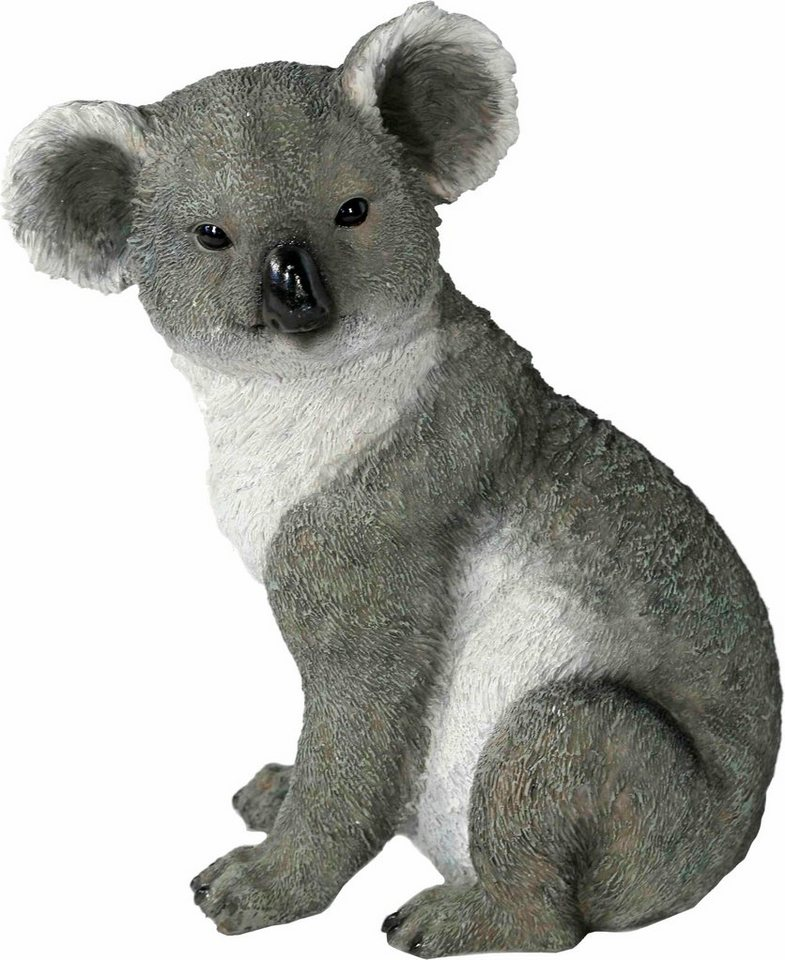 Home affaire Dekofigur »Koala, sitzend« in grau