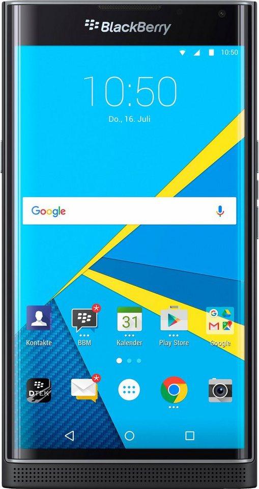 Blackberry PRIV Smartphone, 13,7 cm (5,4 Zoll) Display, LTE (4G), Android, 18,0 Megapixel, NFC in schwarz