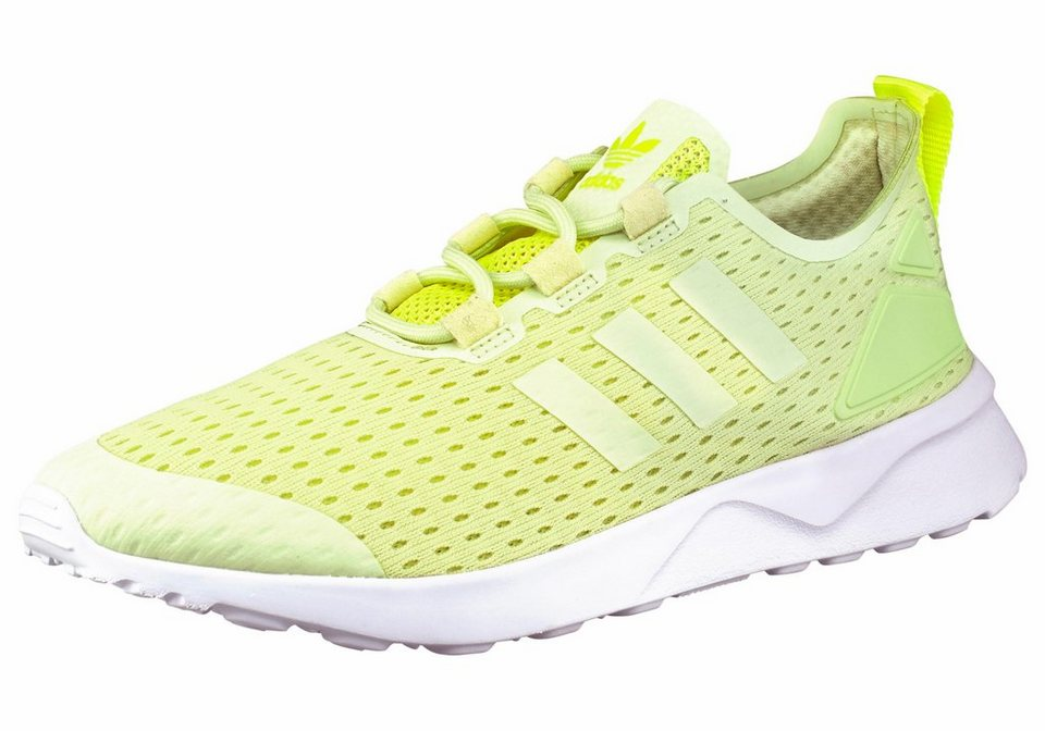 adidas Originals ZX Flux ADV Verve Sneaker in Neon-Gelb