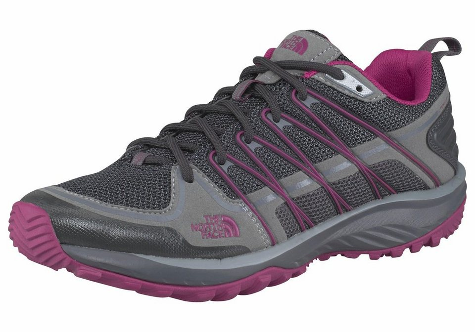 The North Face Women's Litewave Explore Outdoorschuh in Grau-Fuchsia