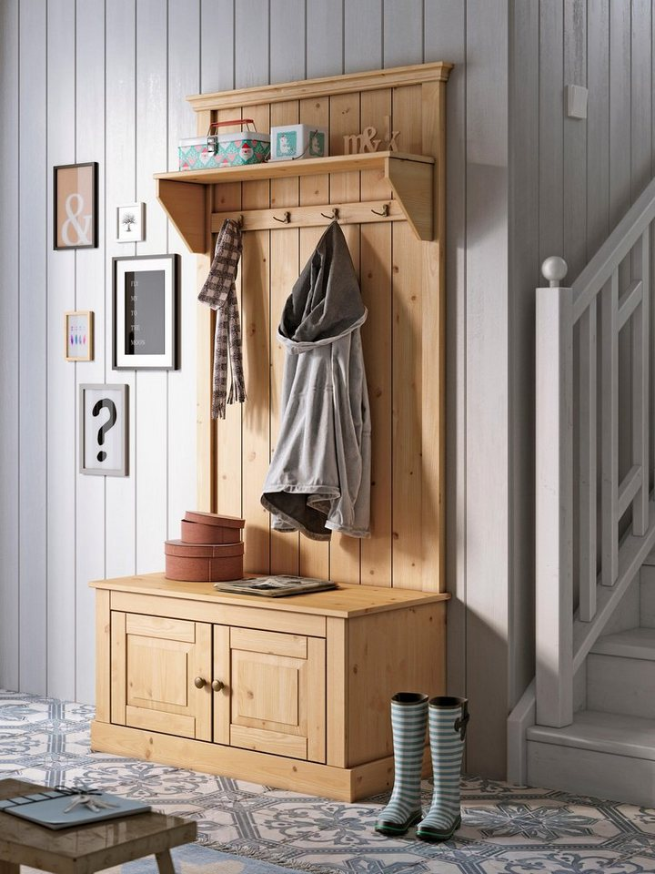home affaire kompaktgarderobe malibu kaufen otto. Black Bedroom Furniture Sets. Home Design Ideas