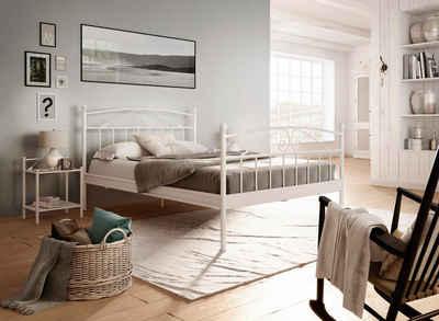 Metallbett 180x200 weiß  Metallbett online kaufen » Eisenbett & Stahlbett | OTTO