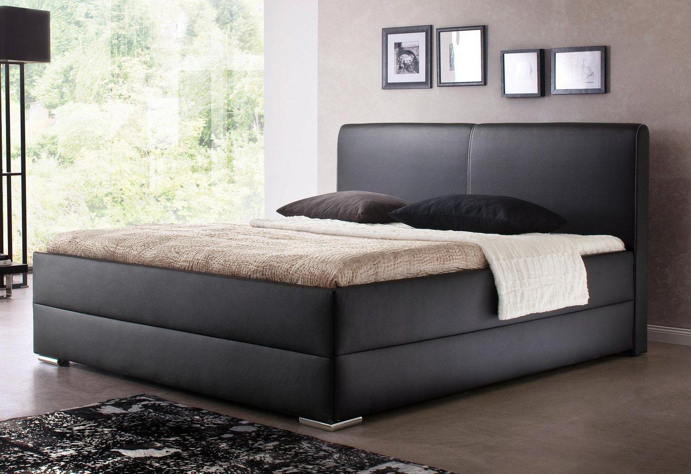 polsterbetten komforth he preisvergleiche. Black Bedroom Furniture Sets. Home Design Ideas
