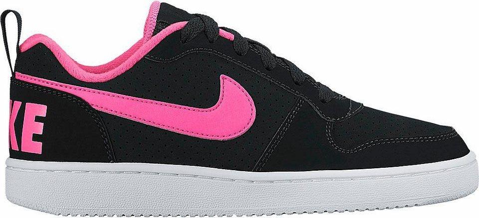 Nike »Recreation Low« Sneaker in schwarz-pink