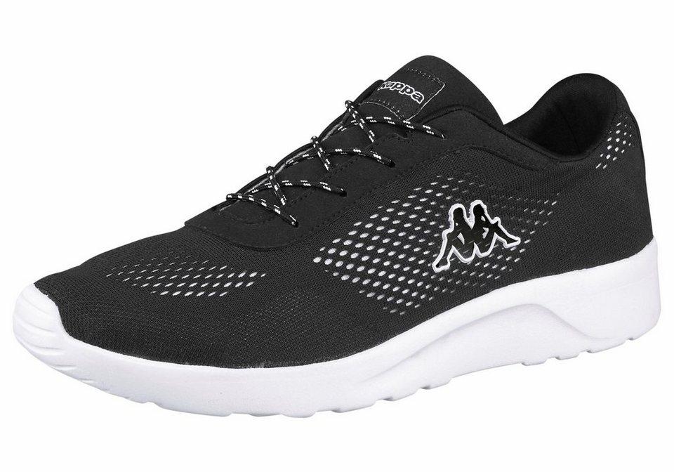 Kappa Delhi Sneaker in Schwarz-Weiß