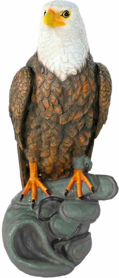 Home affaire Dekofigur »Adler auf Handschuh stehend« in bunt