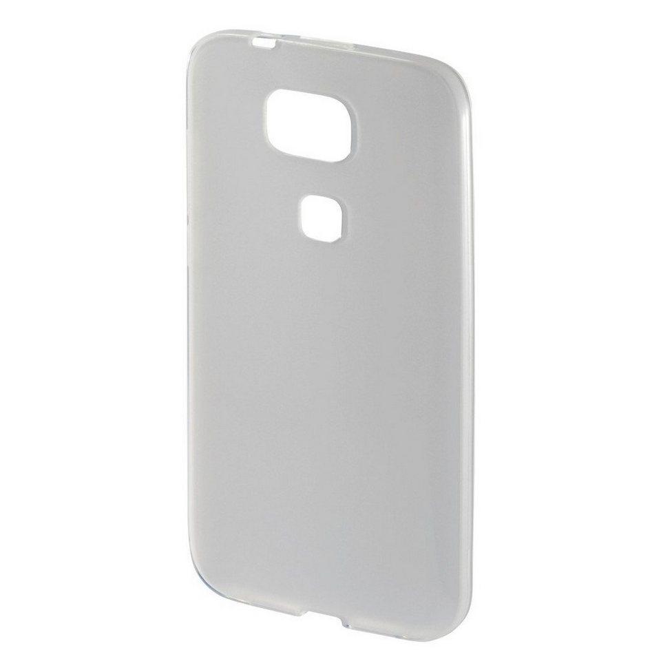 Hama Hülle für Huawei G8/GX8 Case Schutzhülle Handyhülle Bumper »Handy Cover aus flexiblem TPU« in Transparent