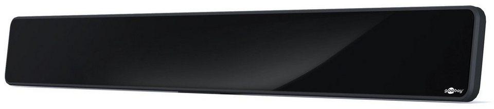 goobay Aktive Full HD DVB-T Zimmerantenne »zum Empfang von DVB-T/DVB-T2« in schwarz