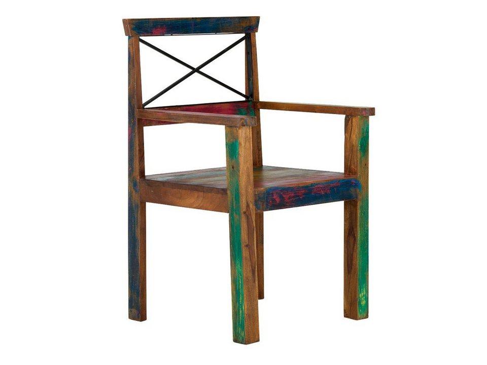 massivum Stuhl aus Recycelt massiv »Cruzar« kaufen | OTTO