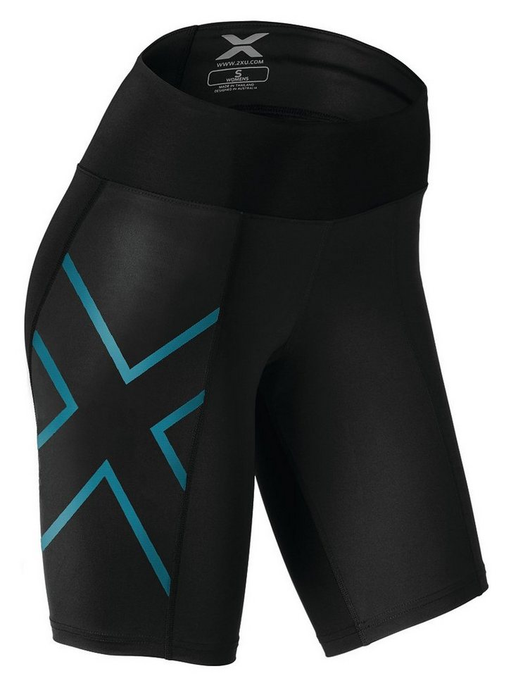 2XU Jogginghose »Mid-Rise Compression Shorts Women« in schwarz