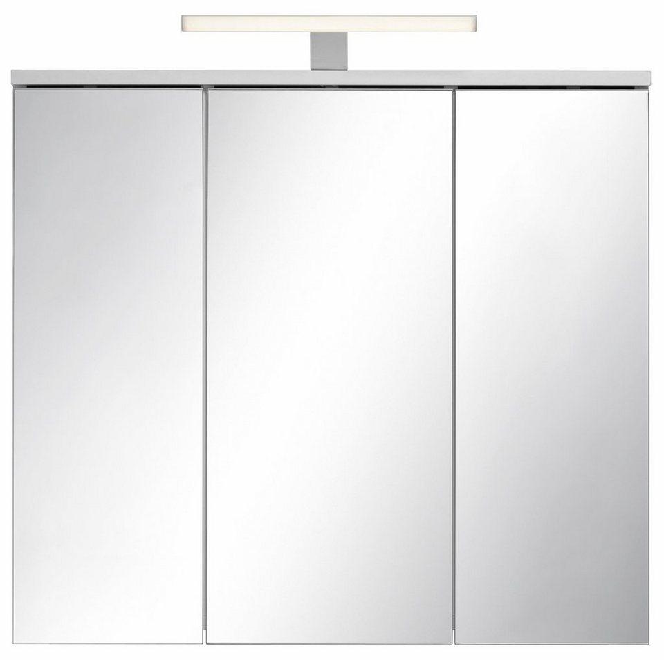 Kesper Spiegelschrank »Lisa« mit LED-Beleuchtung in weiß