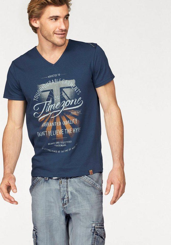 TIMEZONE T-Shirt in moody-indigo