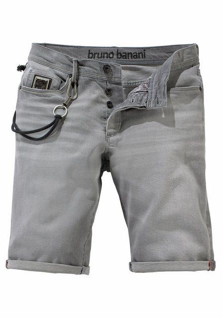 Bruno Banani Jeansbermudas »Hank« mit Hosenkette | Bekleidung > Shorts & Bermudas > Jeans Bermudas | Bruno Banani