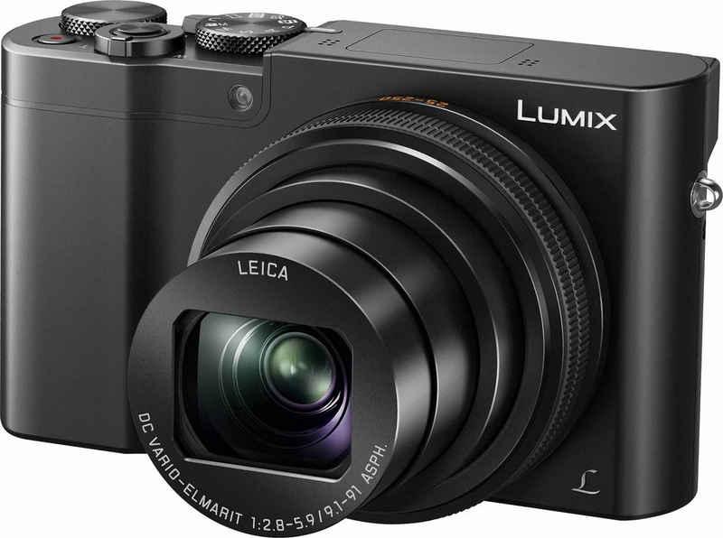 Lumix Panasonic »DMC-TZ101« Superzoom-Kamera (LEICA DC VARIO-ELMARIT, 20,1 MP, 10x opt. Zoom, WLAN (Wi-Fi), 4K-Live-Cropping, RAW Bearbeitung, Hybrid-Kontrast-Autofokus)