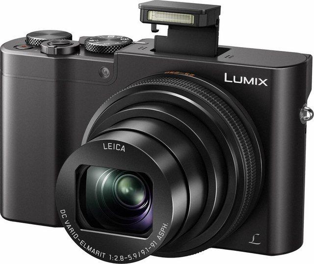 Digitalkameras - Lumix Panasonic »DMC TZ101« Superzoom Kamera (LEICA DC VARIO ELMARIT, 20,1 MP, 10x opt. Zoom, WLAN (Wi Fi), 4K Live Cropping, RAW Bearbeitung, Hybrid Kontrast Autofokus)  - Onlineshop OTTO