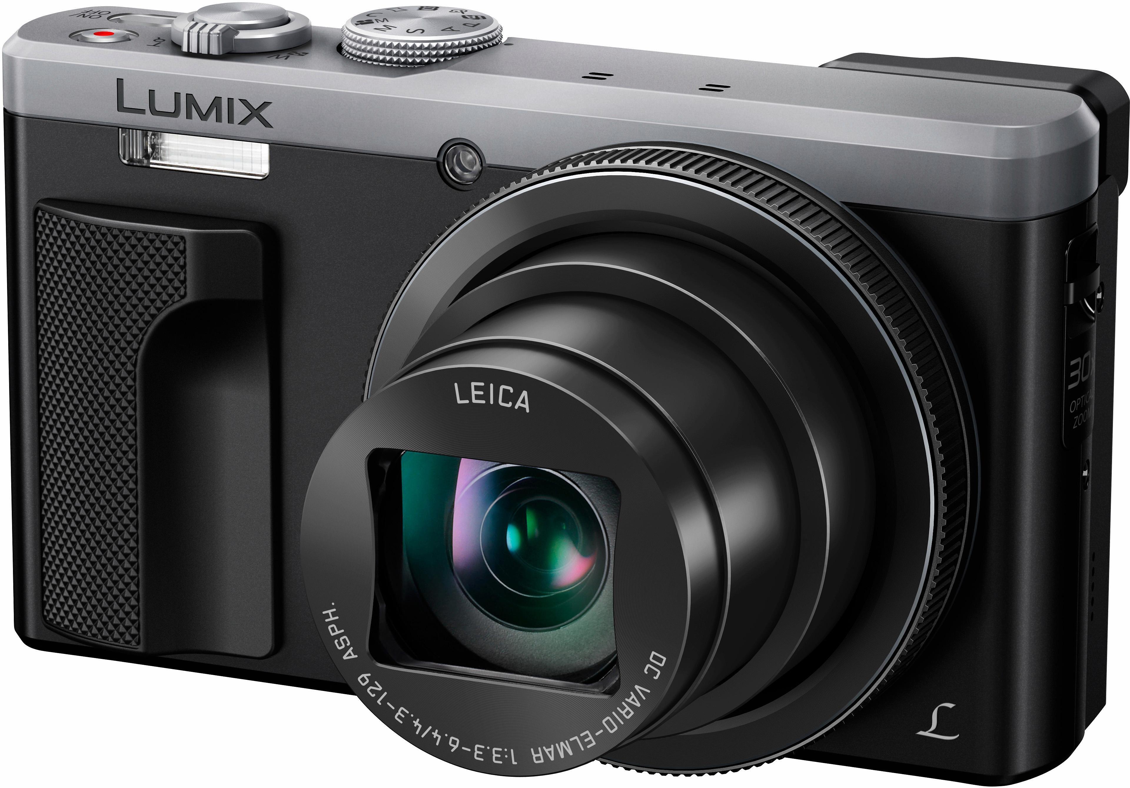 Lumix DMC TZ81 Super Zoom Kamera 18 9 Megapixel 30x opt