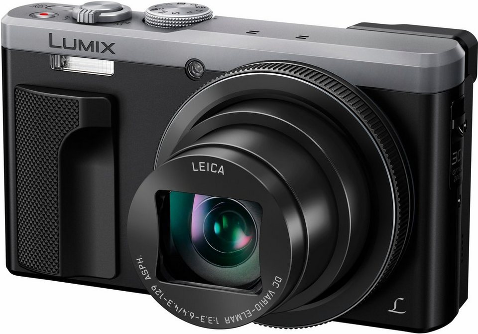 Panasonic Lumix DMC-TZ81 Super Zoom Kamera, 18,9 Megapixel, 30x opt. Zoom, 7,5 cm (3 Zoll) Display in silberfarben