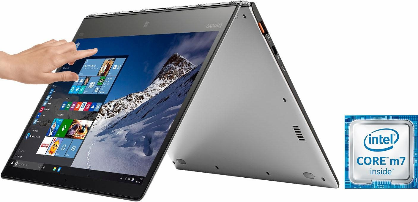 Lenovo YOGA 900S-12ISK Convertible Notebook, Intel® Core™ m7, 31,7 cm (12,5 Zoll), 256 GB Speicher