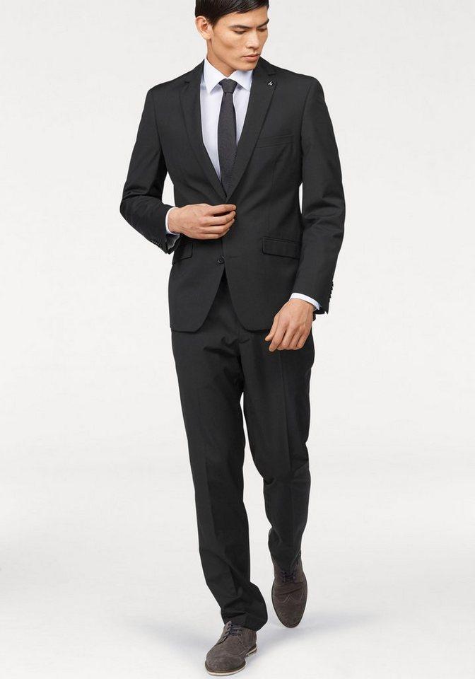 Bruno Banani Anzug in schwarz