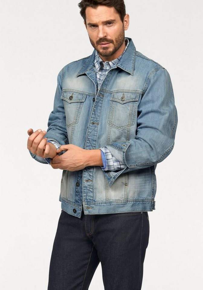 Arizona Jeansjacke in blue-used