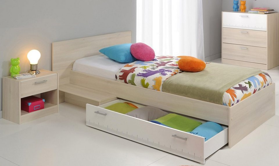Parisot bett set charly 3 tlg online kaufen otto for Otto jugendzimmer