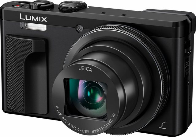Digitalkameras - Panasonic »DMC TZ81« Superzoom Kamera (LEICA DC VARIO ELMAR, 18,9 MP, 30x opt. Zoom, WLAN (Wi Fi), Augenerkennung, 22 Filter, Hybrid Kontrast Autofokus)  - Onlineshop OTTO