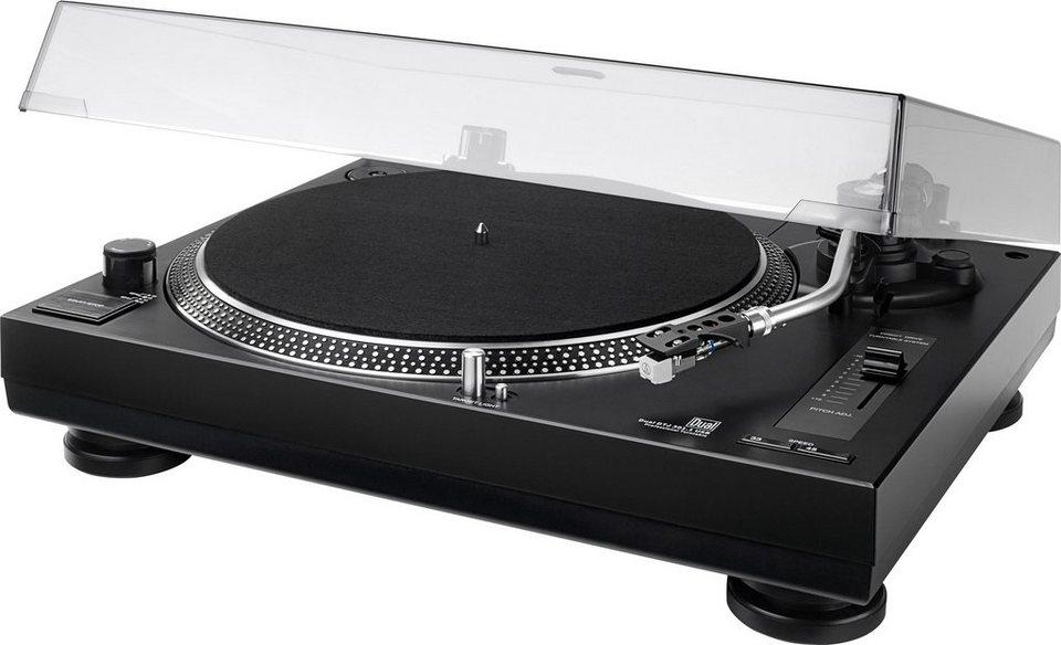 Dual DTJ 301.1 Plattenspieler in schwarz