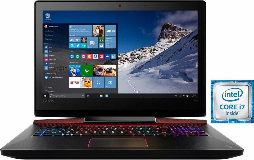 Lenovo IdeaPad 900-17ISK Notebook, Intel® Core™ i7, 43,9 cm (17,3 Zoll), 512 GB Speicher in schwarz