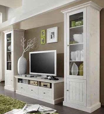 Wohnwand landhausstil  Home affaire Wohnwände online kaufen | OTTO