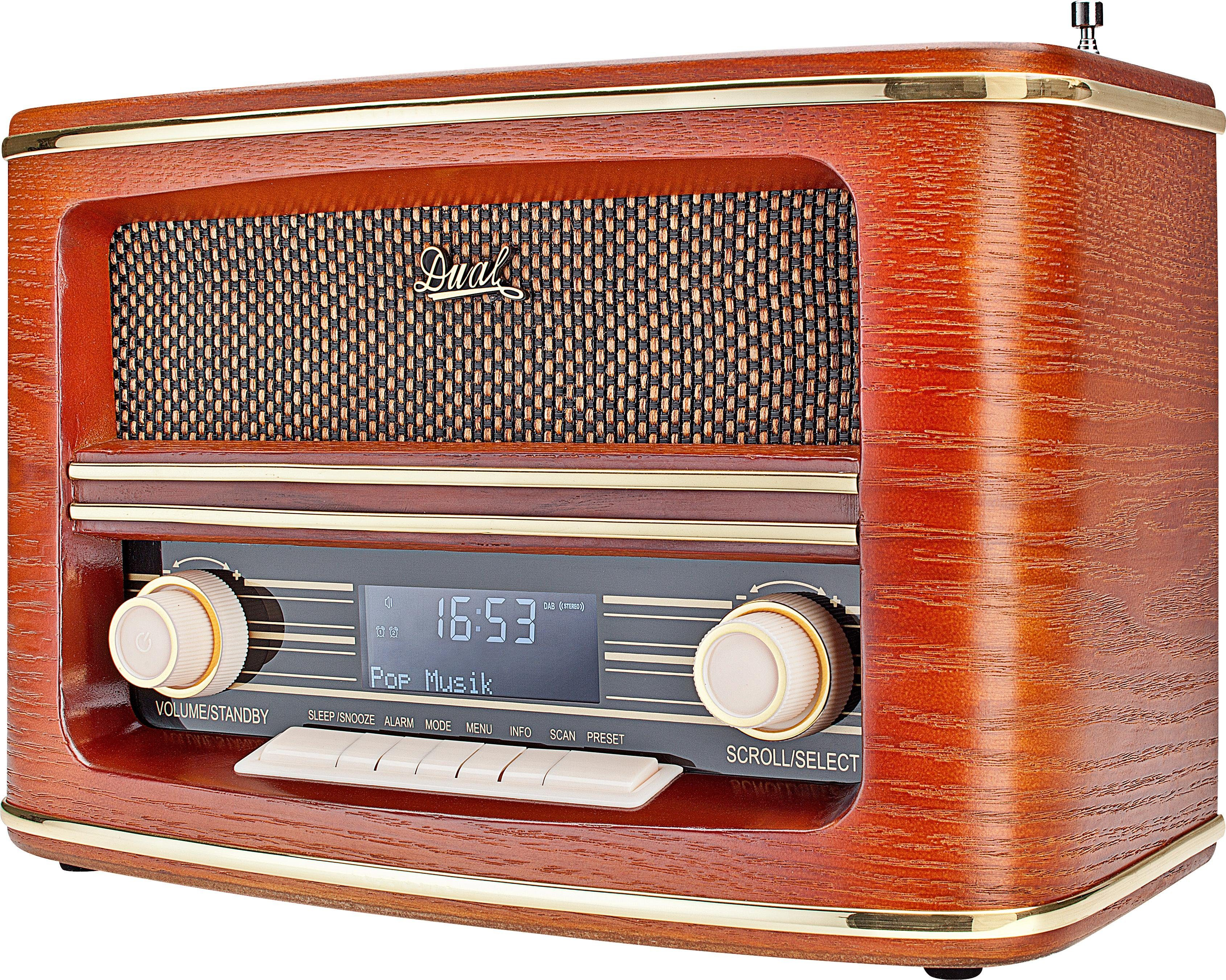 Dual NR 1 DAB Stereoanlage, Digitalradio (DAB+), RDS