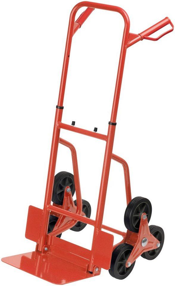 Treppensackkarre »Stufen-Sackkarre 120 kg« in rot