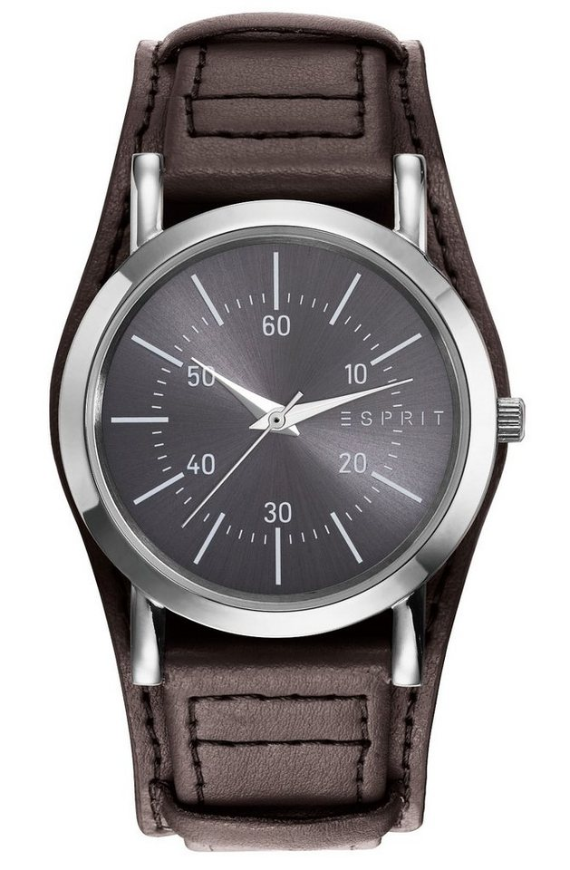 Esprit Quarzuhr »ESPRIT-TW90658 DARK BROWN GREY, ES906582003« in braun