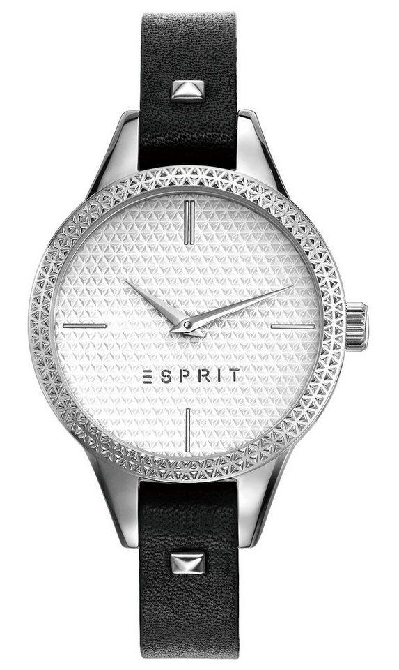 Esprit Quarzuhr »ESPRIT-TW10905 BLACK, ES109052006« in schwarz