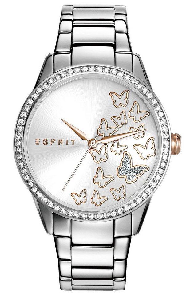 Esprit Quarzuhr »ESPRIT-TW10908 SILVER, ES109082005« in silberfarben