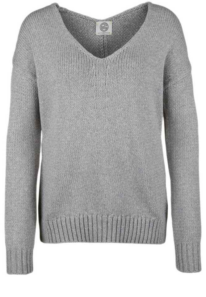 CP29 Strickpullover »JOELLE« in grey