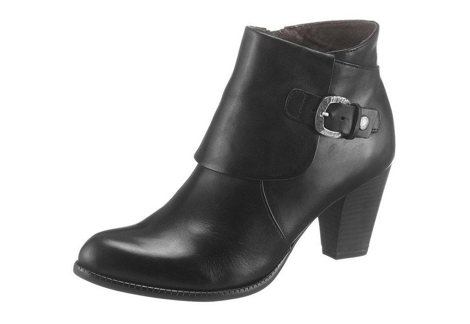 Tamaris Ankleboots in schwarz