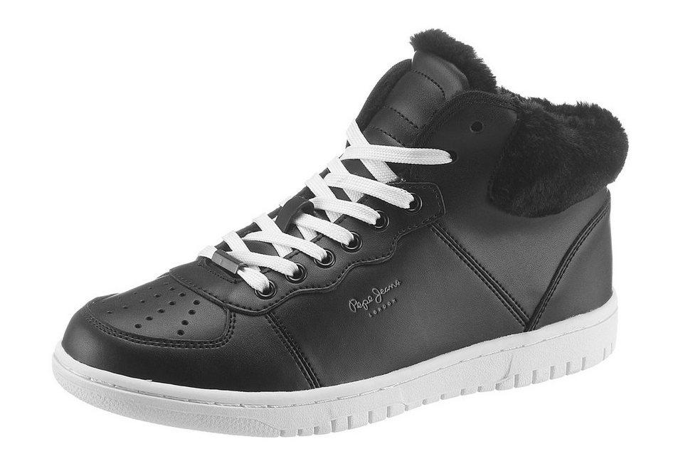 Pepe Jeans Schnürboots in schwarz