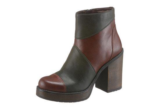 Tamaris High-Heel-Stiefelette, im Seventies-Style