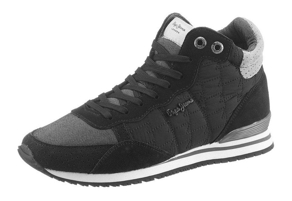 Pepe Jeans Sneaker in schwarz-grau