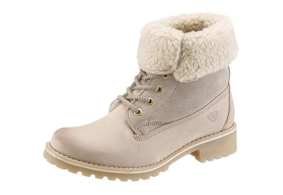 Tamaris Winterboots in sand
