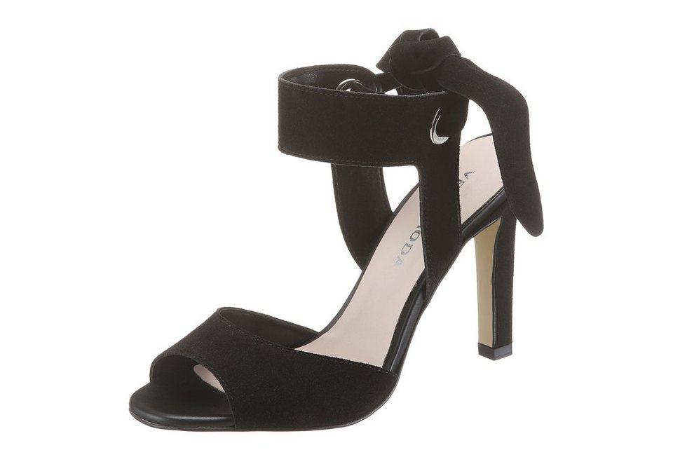Vero Moda High Heel Sandalette in schwarz