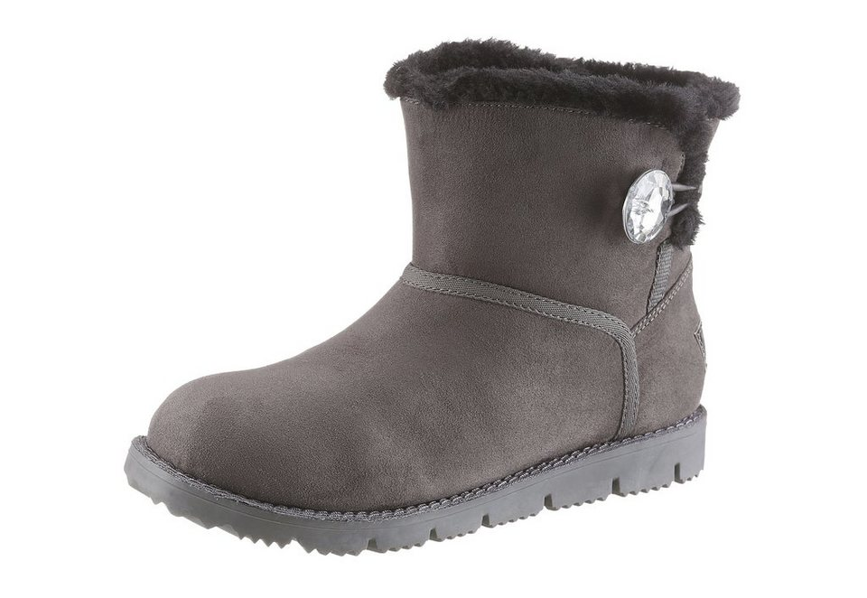 s.Oliver RED LABEL Winterboots in grau
