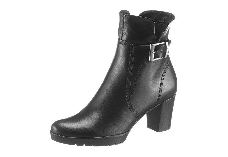 Tamaris Stiefelette in schwarz