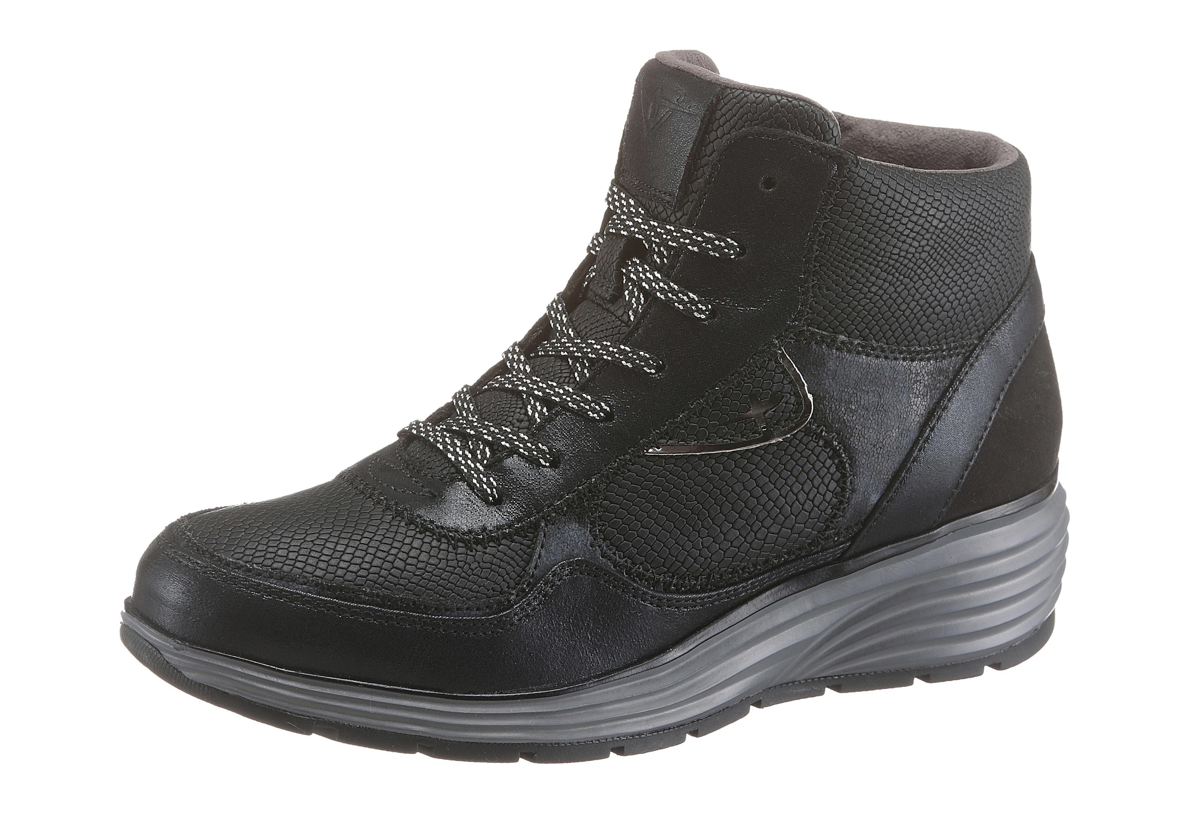 Tamaris Sneaker, mit herrlich weichem Touch-It-Fußbett online kaufen  schwarz