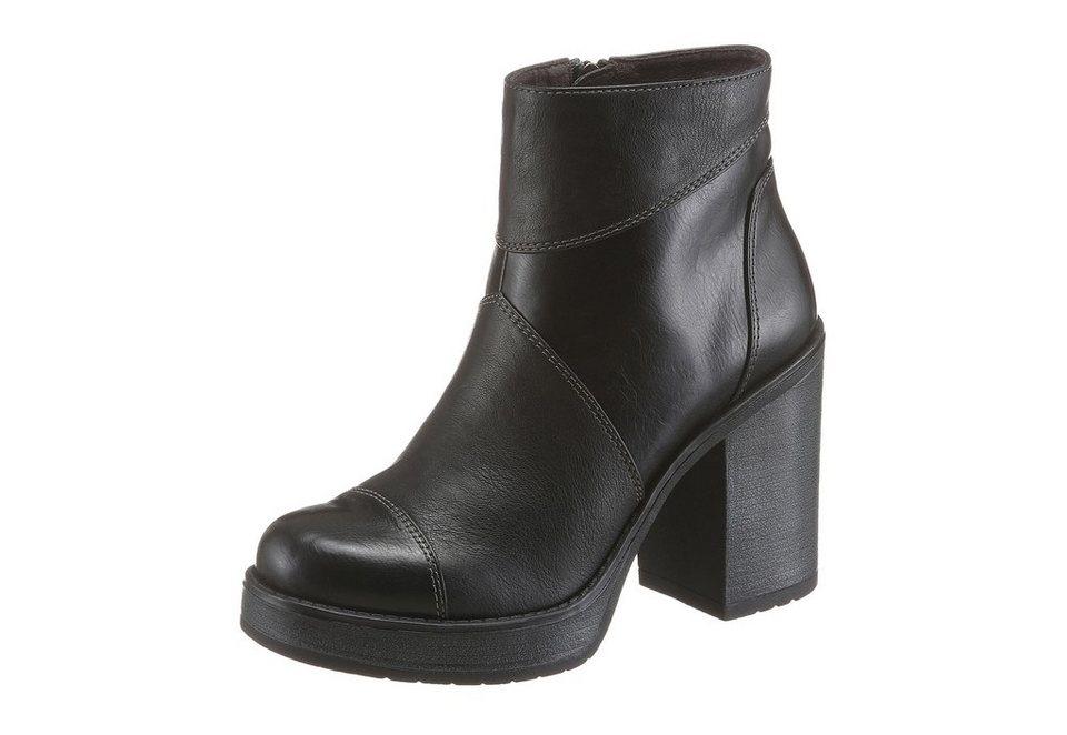 Tamaris High-Heel-Stiefelette im Seventies-Style in schwarz